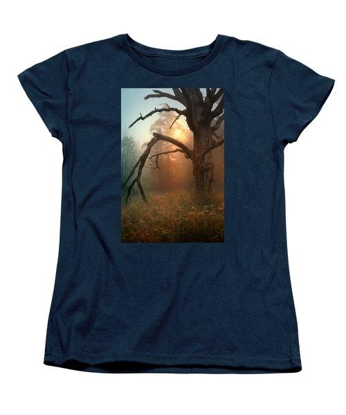 In The Stillness Women's T-Shirt (Standard Cut) by Rob Blair