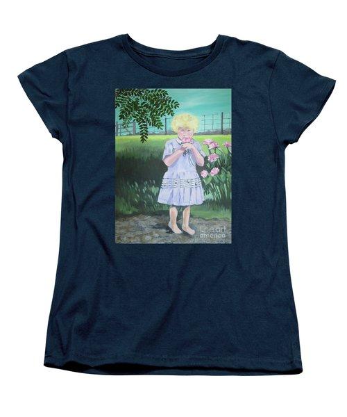 In The Summer Shade Of The Locust Women's T-Shirt (Standard Cut)