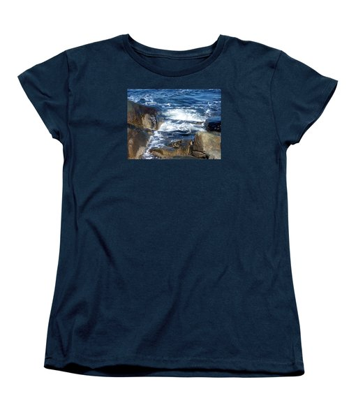 Incoming Tide Women's T-Shirt (Standard Cut) by Catherine Gagne