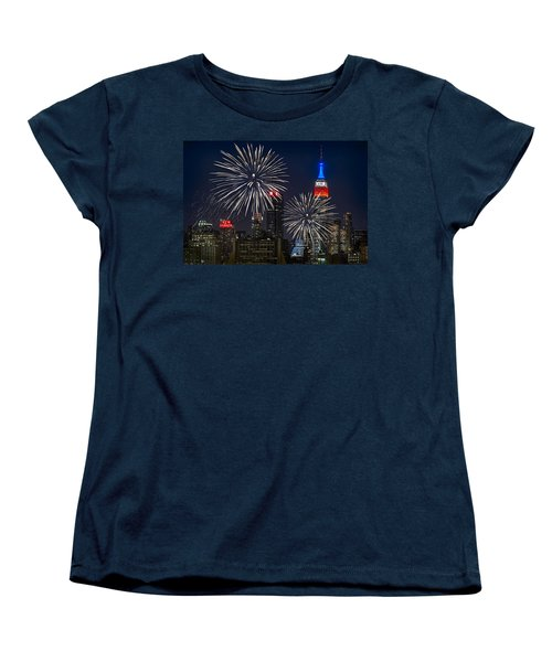 Independence Day Women's T-Shirt (Standard Cut) by Eduard Moldoveanu