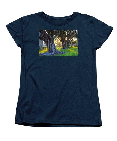 Indian Sunset Women's T-Shirt (Standard Cut) by Iryna Goodall