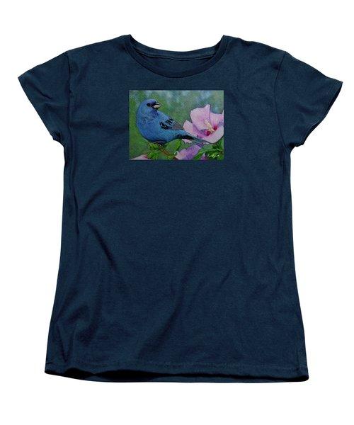 Indigo Bunting No 1 Women's T-Shirt (Standard Cut)