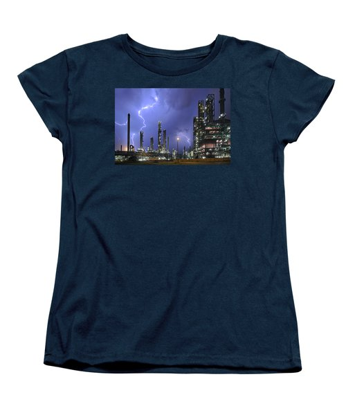 Lightning Women's T-Shirt (Standard Cut) by Arterra Picture Library