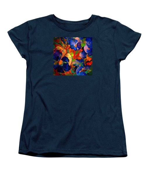 Women's T-Shirt (Standard Cut) featuring the painting Inner Fire by Georg Douglas