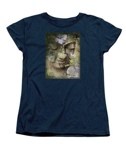 Inner Tranquility Women's T-Shirt (Standard Cut) by Christopher Beikmann