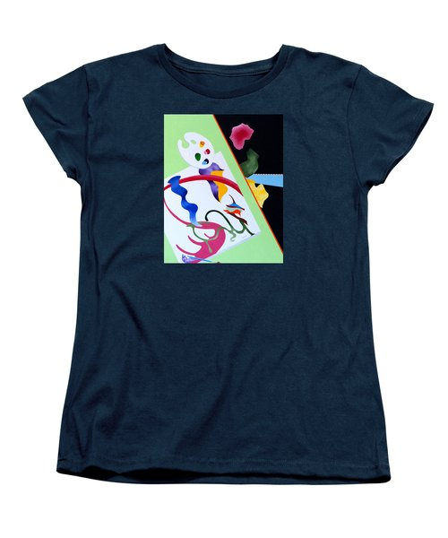 Inspiration Women's T-Shirt (Standard Cut) by Thomas Gronowski