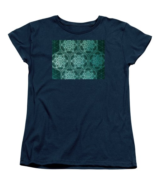 Women's T-Shirt (Standard Cut) featuring the drawing Interference by Jason Padgett
