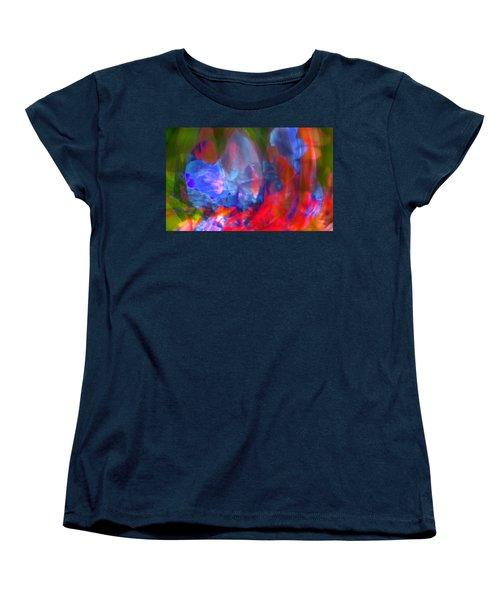 Women's T-Shirt (Standard Cut) featuring the digital art Interior by Richard Thomas