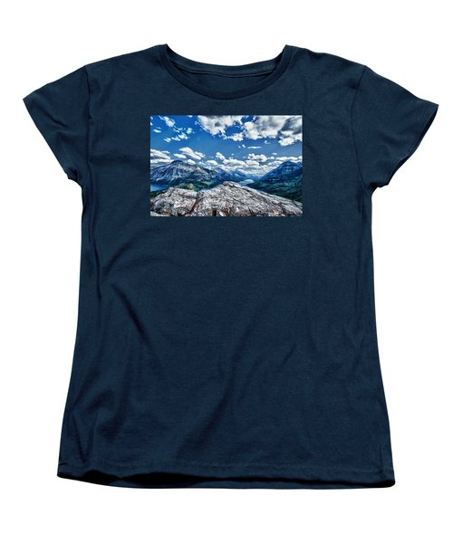 International Vista Women's T-Shirt (Standard Cut) by Renee Sullivan