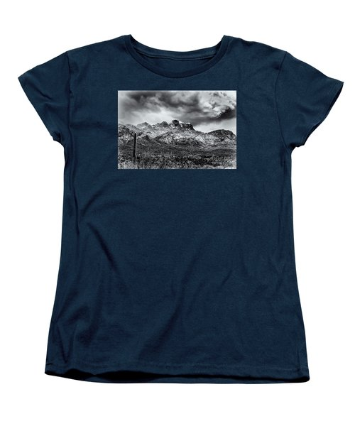 Women's T-Shirt (Standard Cut) featuring the photograph Into Clouds by Mark Myhaver