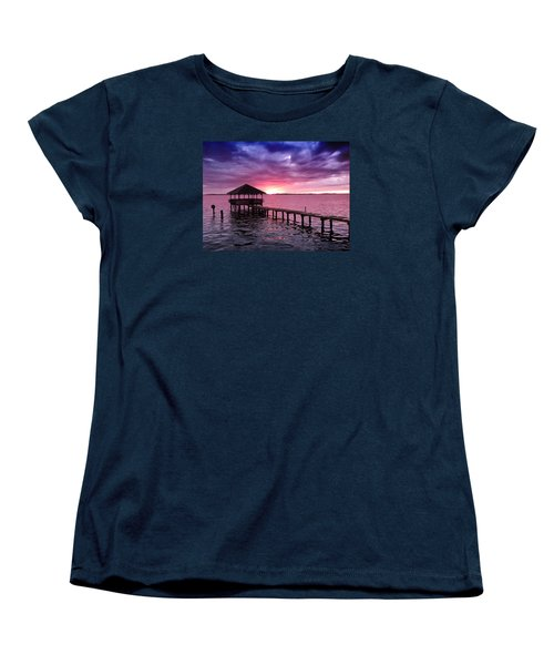 Into The Horizon Women's T-Shirt (Standard Cut) by Rebecca Davis
