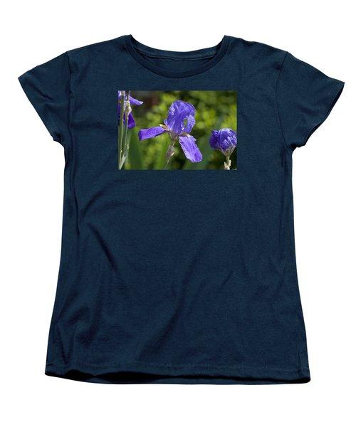 Iris 4 Women's T-Shirt (Standard Cut) by Andy Shomock
