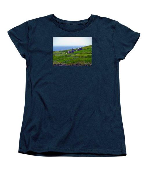 Irish Farm 1 Women's T-Shirt (Standard Cut) by Patricia Griffin Brett