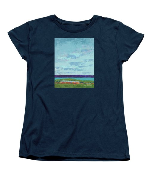 Island Estuary Women's T-Shirt (Standard Cut) by Gail Kent