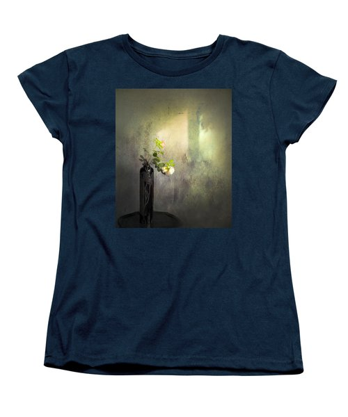 Isn't It Romantic Women's T-Shirt (Standard Cut) by Theresa Tahara