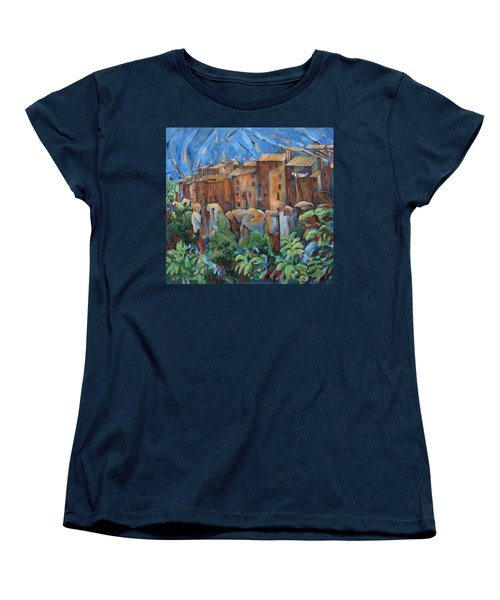 Isola Di Piante Large Italy Women's T-Shirt (Standard Cut)