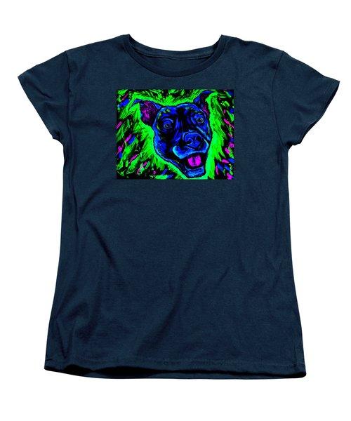 It's A Pitty Black Light Women's T-Shirt (Standard Cut) by Lisa Brandel