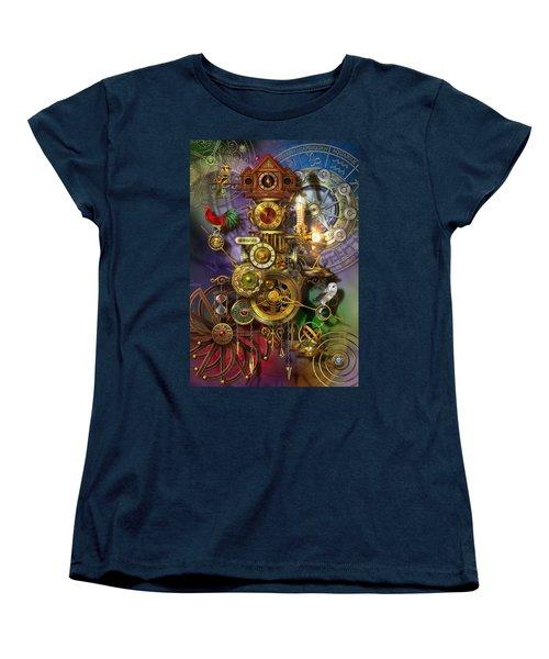 Its About Time Women's T-Shirt (Standard Cut) by Ciro Marchetti