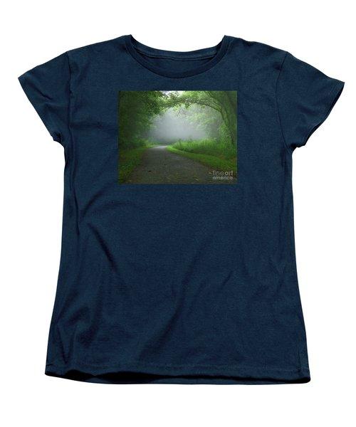 Mystery Walk Women's T-Shirt (Standard Cut) by Douglas Stucky