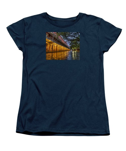 Jackson Square Reflections Women's T-Shirt (Standard Cut) by Tim Stanley