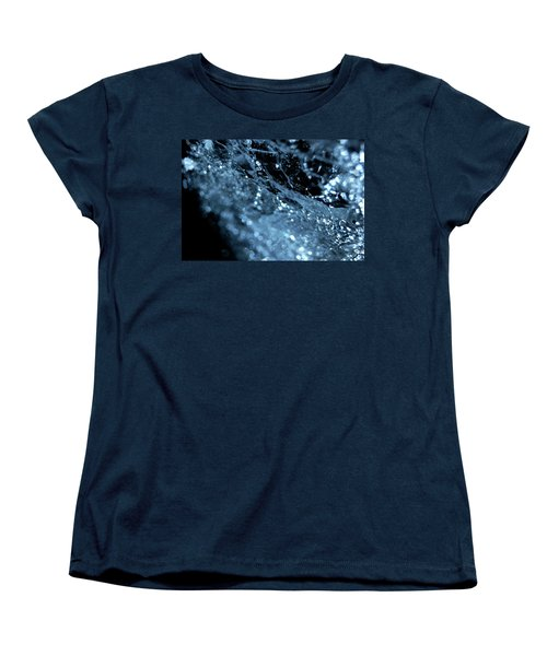 Women's T-Shirt (Standard Cut) featuring the photograph Jammer Abstract 006 by First Star Art