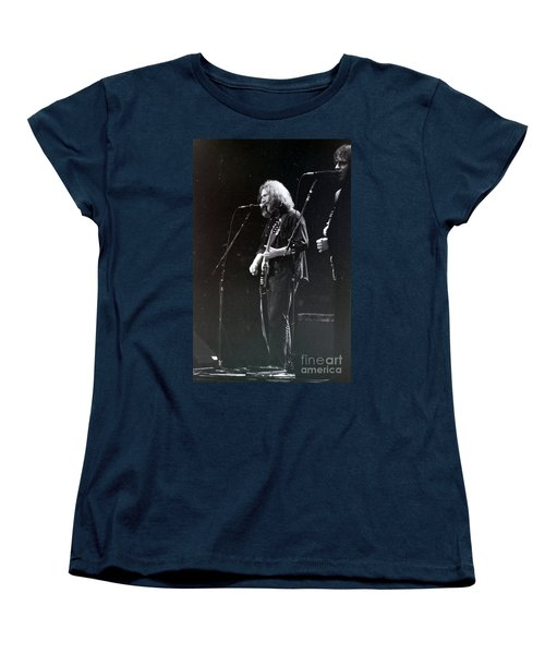 Women's T-Shirt (Standard Cut) featuring the photograph Grateful Dead -  In And Out Of The Garden  by Susan Carella