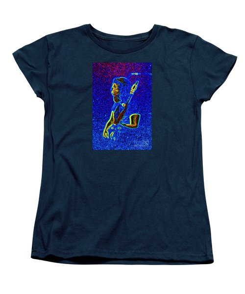 Women's T-Shirt (Standard Cut) featuring the photograph East Coast Tour by Susan Carella