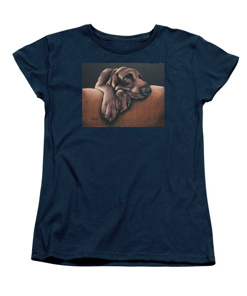 Women's T-Shirt (Standard Cut) featuring the pastel Jethro by Cynthia House