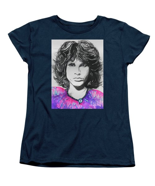 Jim Morrison Women's T-Shirt (Standard Cut)
