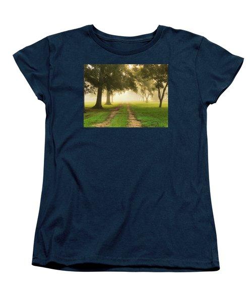 Journey Into Fall Women's T-Shirt (Standard Cut) by Charlotte Schafer