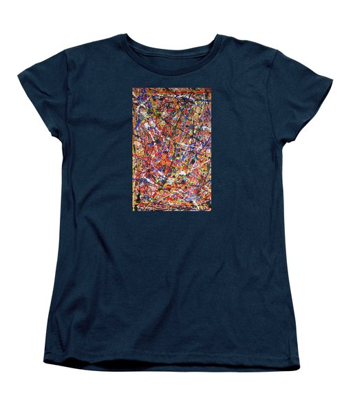 Women's T-Shirt (Standard Cut) featuring the painting JP by Michael Cross