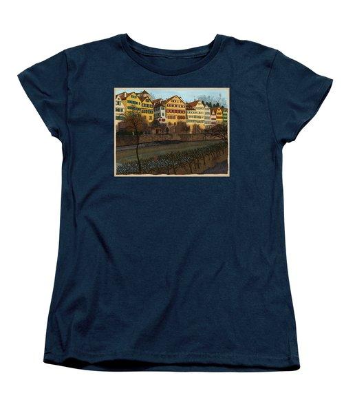Judith's Walk Women's T-Shirt (Standard Cut) by Meg Shearer