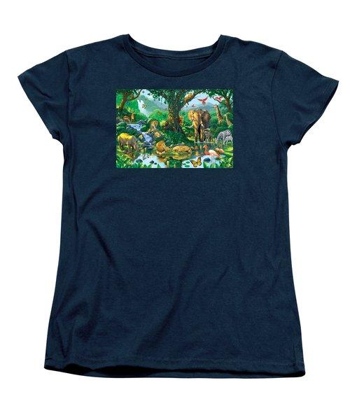 Jungle Harmony Women's T-Shirt (Standard Cut) by Chris Heitt