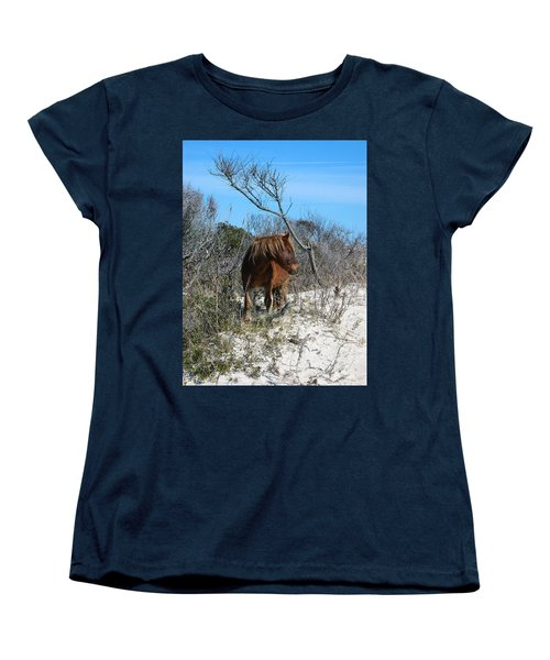 Just Another Day At The Beach Women's T-Shirt (Standard Cut) by Photographic Arts And Design Studio
