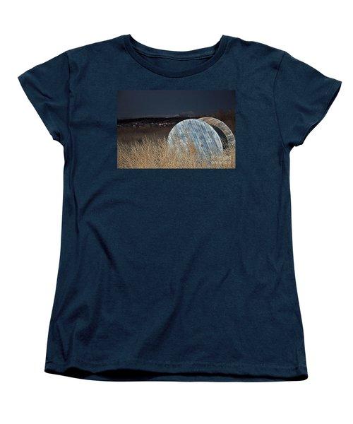 Women's T-Shirt (Standard Cut) featuring the photograph Just Before Dawn by Minnie Lippiatt