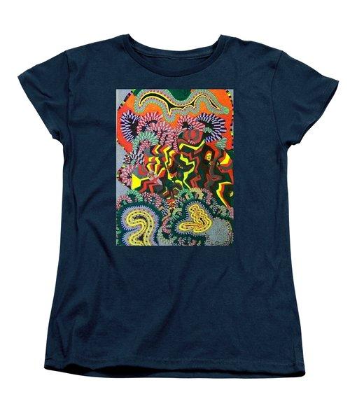 Just Look Two Women's T-Shirt (Standard Cut) by Jonathon Hansen