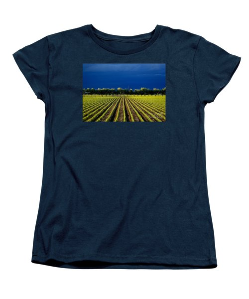 Just Starting Women's T-Shirt (Standard Cut) by Steven Reed