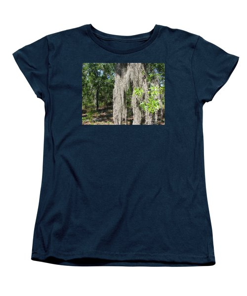 Women's T-Shirt (Standard Cut) featuring the photograph Just The Backyard by Greg Patzer