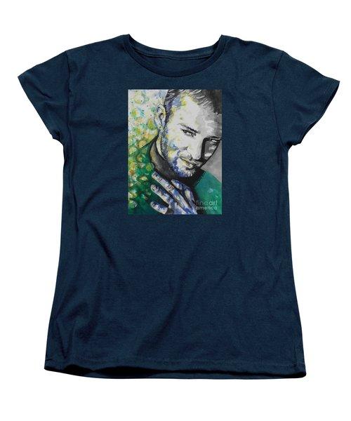 Justin Timberlake...01 Women's T-Shirt (Standard Cut) by Chrisann Ellis