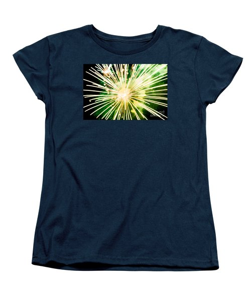 Women's T-Shirt (Standard Cut) featuring the photograph Kaboom by Suzanne Luft