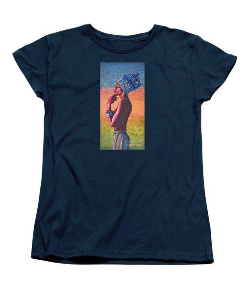 Kalimba De Luna Women's T-Shirt (Standard Cut) by Viktor Lazarev