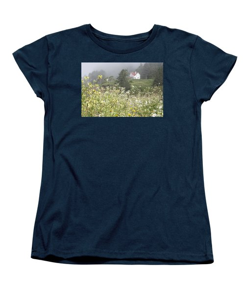 Women's T-Shirt (Standard Cut) featuring the photograph Keepers House by Laddie Halupa