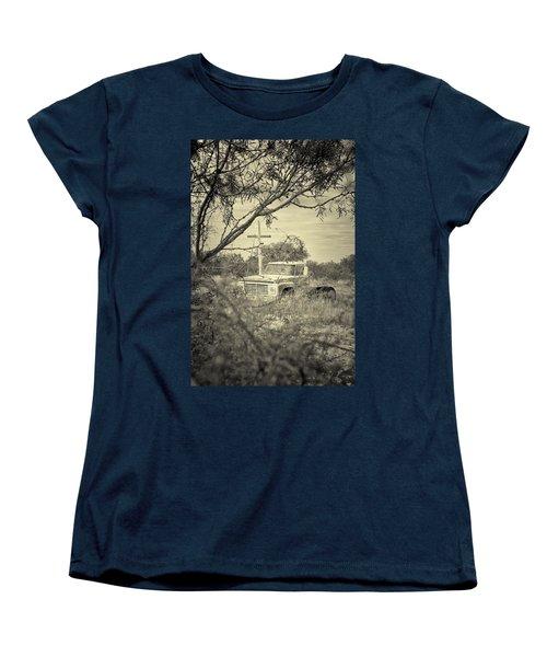 Women's T-Shirt (Standard Cut) featuring the digital art Keeping Watch by Erika Weber