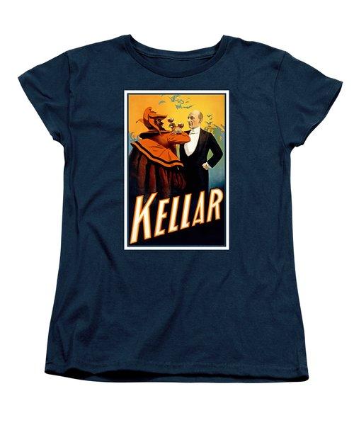 Kellar Toasts The Devil Women's T-Shirt (Standard Cut) by Terry Reynoldson