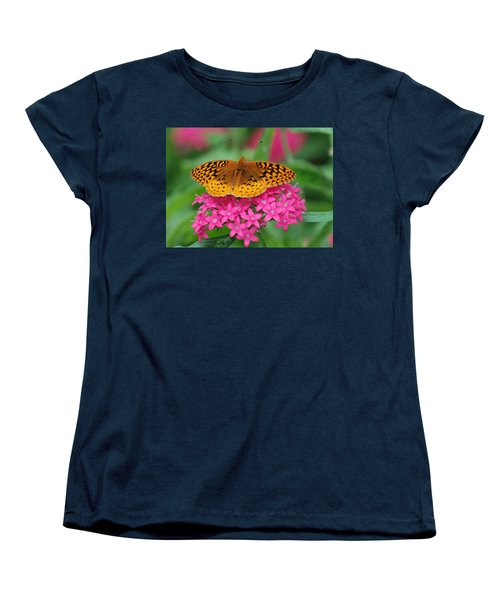 Women's T-Shirt (Standard Cut) featuring the photograph Kim's Bosom Buddies Support by Richard Bryce and Family