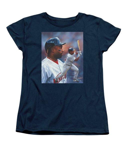 Kirby Puckett Minnesota Twins Women's T-Shirt (Standard Cut)