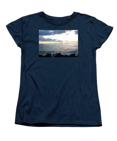 Kona  North Women's T-Shirt (Standard Cut) by Angela J Wright