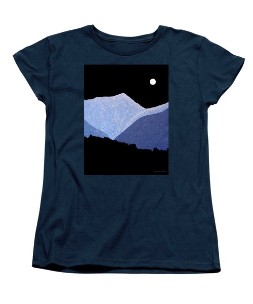 Kootenay Mountains Women's T-Shirt (Standard Cut)
