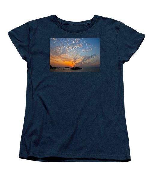 Kusadasi Sunset Women's T-Shirt (Standard Cut) by Eric Tressler