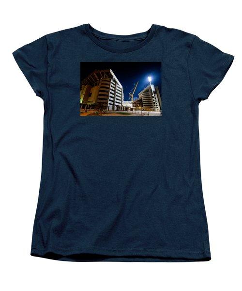 Kyle Field Construction Women's T-Shirt (Standard Cut) by Linda Unger